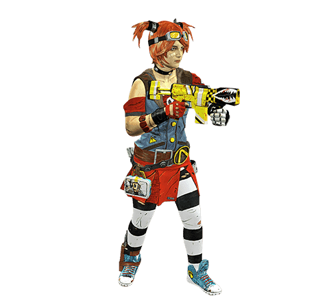 Borderlands cosplayer Modelo 3D