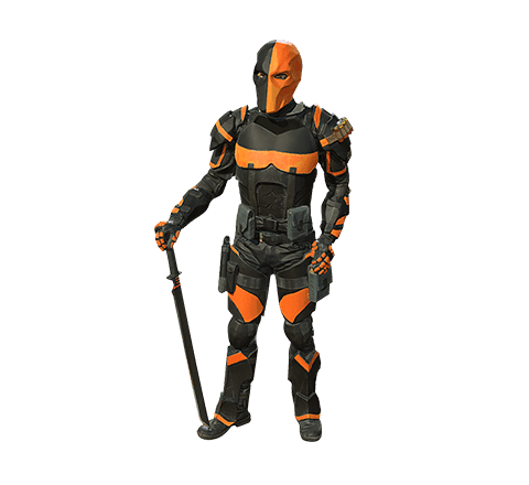 Cosplayer Deathstroke Modèle 3D