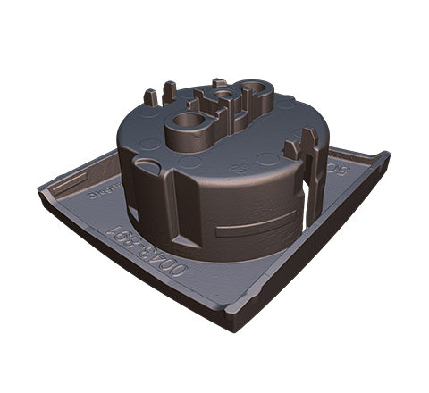 Electrical outlet 3D model