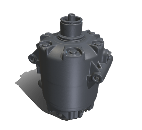 Industrial compressor HD 3D model