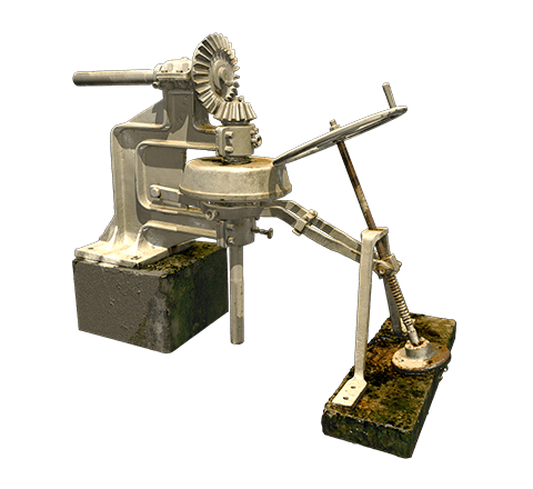 Part of a mining machine 3D model