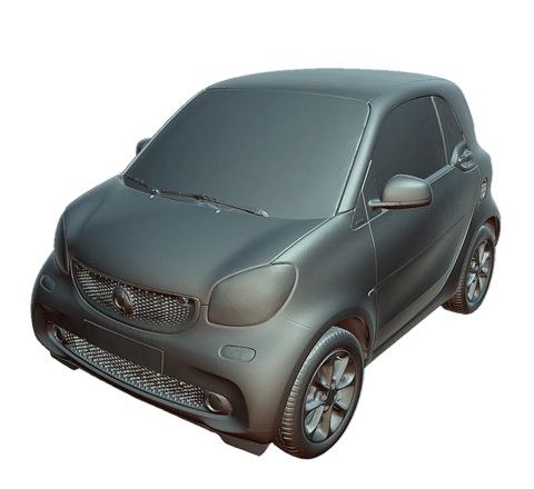 Smart (automobile) Modello 3D