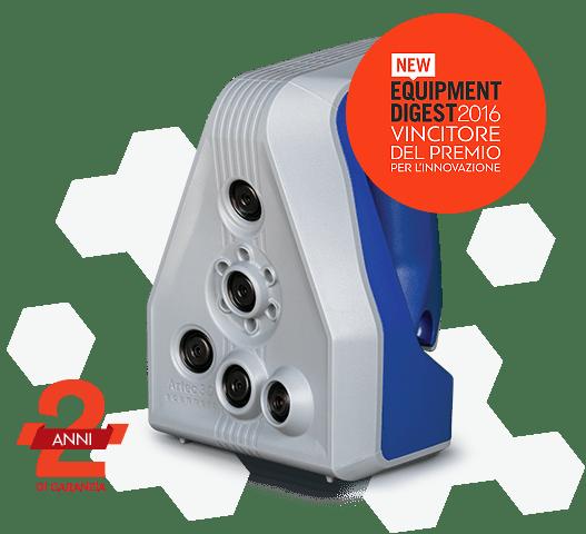 Artec Spider scanner 3D ad alta risoluzione
